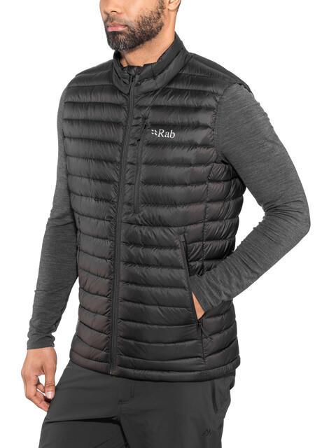 Rab Microlight Vest Men Black/Shark